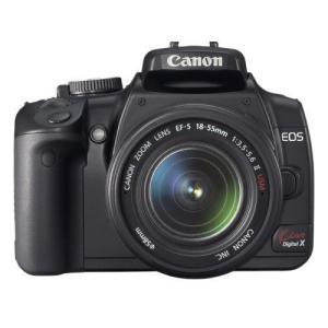 Canon デジタル一眼レフカメラ EOS Kiss デジタル X レンズキット ブラック KISSDXB-LKIT tomoshop0218