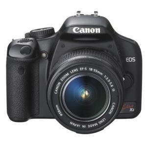 Canon デジタル一眼レフカメラ EOS Kiss X2 レンズキット KISSX2-LKIT tomoshop0218