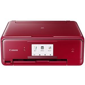 Canon インクジェットプリンター複合機 TS8030 RD レッド|tomoshop0218