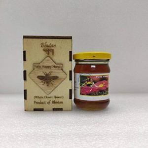 ブータン産はちみつ Pure Happy Honey ホワイトクローバー (100g)|tomotomoselectshop