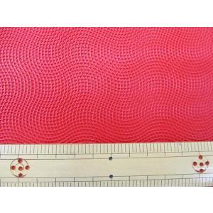 【特価】 125cm巾 上質 デザイン合皮 B柄 (レッド系) tomoya