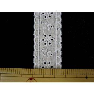 綿麻レース 巾3cm|tomoya