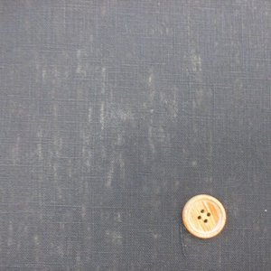 137cm巾 麻地 (黒)|tomoya