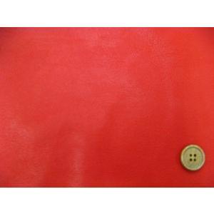 合皮 130cm巾 ソフトレザー(伸縮性有り) (赤) tomoya