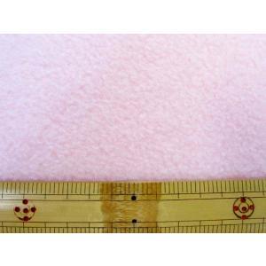【NEW】 フリース 無地(薄ピンク) 50cm単位 アンチ...