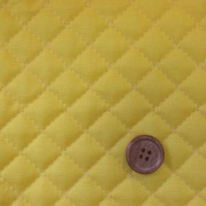 【定番】無地 広巾シーチングキルト 104cm巾 (黄色) tomoya