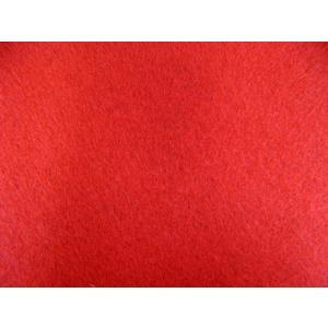 定番洗えるフエルト90cm巾生地 赤(RZ−23)|tomoya
