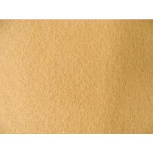 【現品限り】洗えるフエルト90cm巾生地 うす茶色(RZ−25)|tomoya