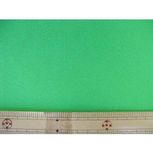 【現品限り】洗えるフエルト90cm巾生地 黄緑(RZ−48)|tomoya