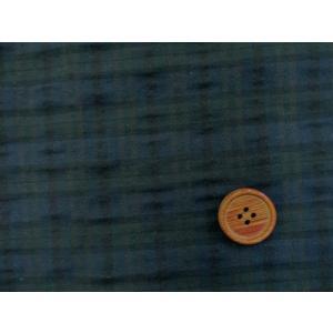 【お買い得】 140cm幅 チェック柄 ブラックウォッチ リップル生地|tomoya