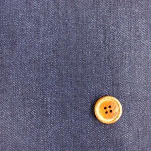 【お買い得】 122cm巾 裏起毛 表デニム生地 (紺)|tomoya