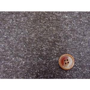 【お買い得】 綿混ツイード生地 (茶)|tomoya