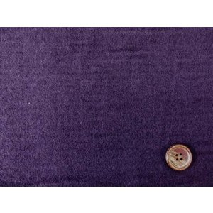 【お買い得】Wガーゼ起毛生地 無地(濃い紫色)|tomoya