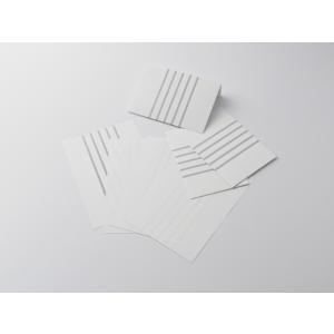 【クロネコDM便 全国送料無料】神戸派計画 KOBEHA レターセット stripe|洋2封筒3枚+A5便箋6枚|アクア (01-00247)[大日本出版印刷]