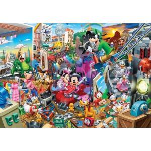 ジグソーパズル 300ピース ディズニー ミッキーのムービースタジオ(30.5x43cm) D-30...