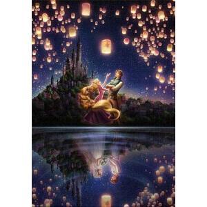 ・ジグソーパズル ジグソーパズル ラプンツェル 湖面が映す未来 1000ピース 【光るパズル】 (5...
