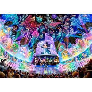・ジグソーパズル 1000ピース ディズニー ウォータードリームコンサート(51x73.5cm) D...