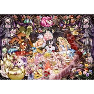 ジグソーパズル 1000ピース ディズニー ふしぎの国のアリス 醒めない夢のティーパーティー(51x73.5cm)  D-1000-495(テンヨー)梱80cm