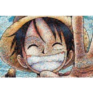ジグソーパズル 1000ピース ワンピース モザイクアート (50x75cm) 1000-330(エンスカイ)梱80cm
