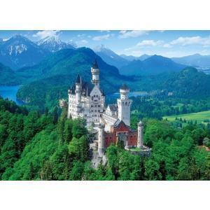 ・ジグソーパズル 2000ピース 白亜の城 ノイシュバンシュタイン―ドイツ 世界最小スーパースモールピース(38x53cm)  54-014(エポック社)梱60cm