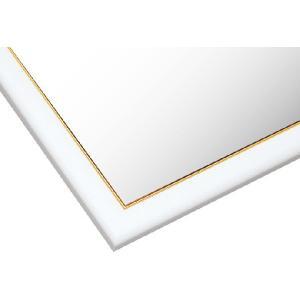 ・ゴールドモール木製パネル シロ-107/10-T (51×73.5cm) 10-T (MP107H)[ビバリー]【梱140cm】
