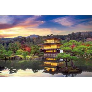 ジグソーパズル 1000ピース 金閣寺絢爛(京都) (50×75cm)  10-1315(やのまん)...