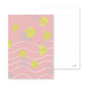 【クロネコDM便 全国送料無料】新日本カレンダー にっぽんのいろ ノート ひわ 品番1604 (1604)[新日本カレンダー]