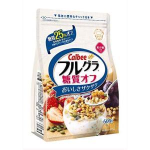 カルビー フルグラ 糖質オフ 600g×6袋|tomozoo