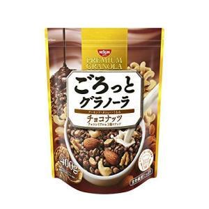 日清シスコ ごろっとグラノーラ チョコナッツ 400g×6袋|tomozoo