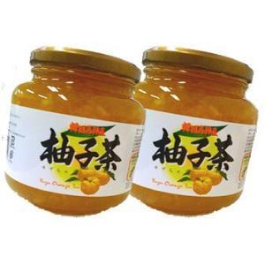 ジーエムピー 韓国高興産 柚子茶 1kg入り×2本セット|tomozoo