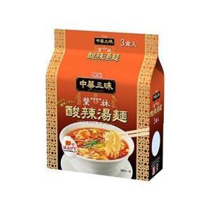 明星 中華三昧 赤坂榮林(エイリン) 酸辣湯麺(スーラータンメン) 3食パック tomozoo