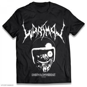 キン肉マン - ウォーズマン サタニックロゴ Tシャツ [Mサイズ]|toms-toy-store