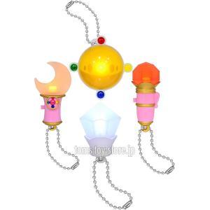 美少女戦士セーラームーン Crystal クリスタルライトマスコット - 全4種セット|toms-toy-store