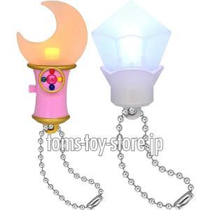 美少女戦士セーラームーン Crystal クリスタルライトマスコット - 2種セット|toms-toy-store