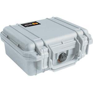 PELICAN ハードケース 1200 シルバー 4.4L 防水 シルバー 012137|tomutomu