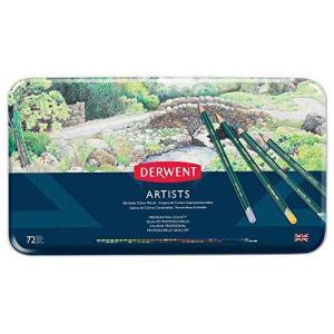 ダーウェント 色鉛筆 アーチスト カラーペンシル 72色セット 32097|tomutomu