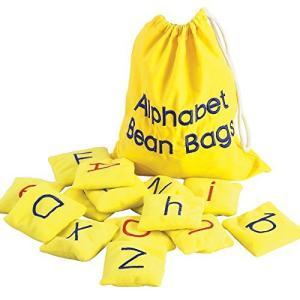 エデュケーショナル インサイツ(Educational Insights) 布のおもちゃ ビーンバッグ アルファベット 英語教材|tomutomu