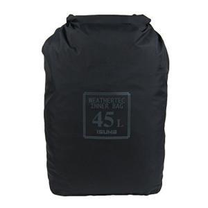 イスカ(ISUKA) ウェザーテック インナーバッグ 45L ブラック 356601|tomutomu