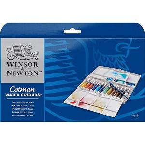 ウィンザー&ニュートン 水彩絵具 ウィンザー&ニュートン コットマン ウォーターカラー 8mlチューブ 12色ペイン|tomutomu