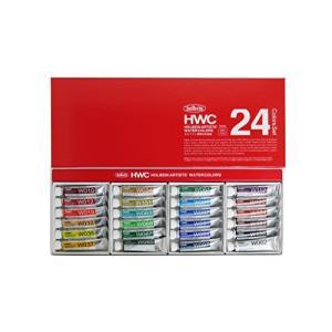 ホルベイン 透明水彩絵具 24色セット W405 5ml(2号) 003405|tomutomu