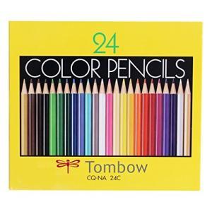 トンボ鉛筆 色鉛筆 NA 24色 紙箱入 CQ-NA24C|tomutomu