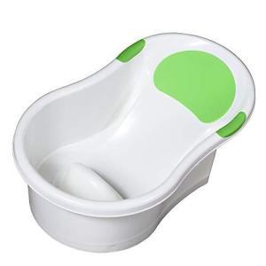 永和 新生児用ベビーバス お風呂でもキッチンのシンクでも使えるバスタブ グリーン 498111|tomutomu
