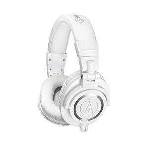 audio-technica プロフェッショナルモニターヘッドホン ATH-M50xWH ホワイト スタジオレコーディング /  キシング / DJ tomutomu