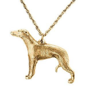 ウィペット イギリス製 アート ドッグ ペンダント ネックレス コレクション|tomutomu