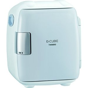TWINBIRD 2電源式コンパクト電子保冷保温ボックス D-CUBE S グレー HR-DB06GY tomutomu