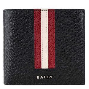 バリー BALLY 二つ折り財布 6222053 TRASAI.LT/310 メンズ BLACK  並行輸入品|tomutomu
