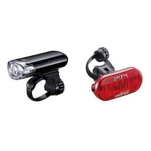 キャットアイ(CAT EYE) LEDライト ヘッドライト URBAN アーバン ブラック HL-EL145 自転車 & テールライト OMNI3 AUTO 36mm x tomutomu