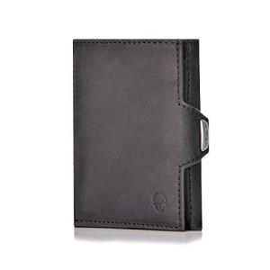 ヨーロッパで人気 本革  ニ財布 メンズ 小さい財布  ニ 財布 コンパクト 小さい  ニウォレット 三つ折り財|tomutomu