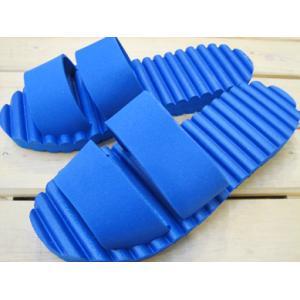 (在庫限り)ユニットサンダル 防水 EVA素材 ブルー/XLサイズ|tomy