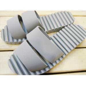 (在庫限り)ユニットサンダル 防水 EVA素材 グレー/XLサイズ|tomy